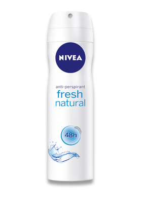 Gratis Nivea Fresh Natural Bayan Pump Sprey 75ml