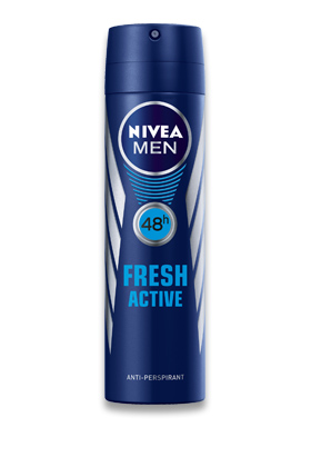 Gratis Nivea Men Fresh Active Erkek Sprey 150ml