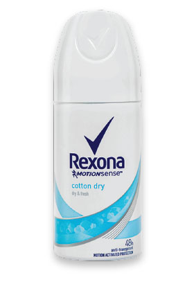 Gratis Rexona Mini Deodorant Sprey Cotton Dry 35ml