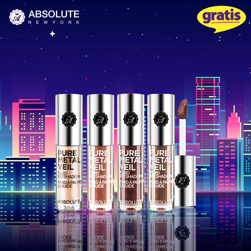Gratis Absolute New York Pure Metal Veil Likit Far